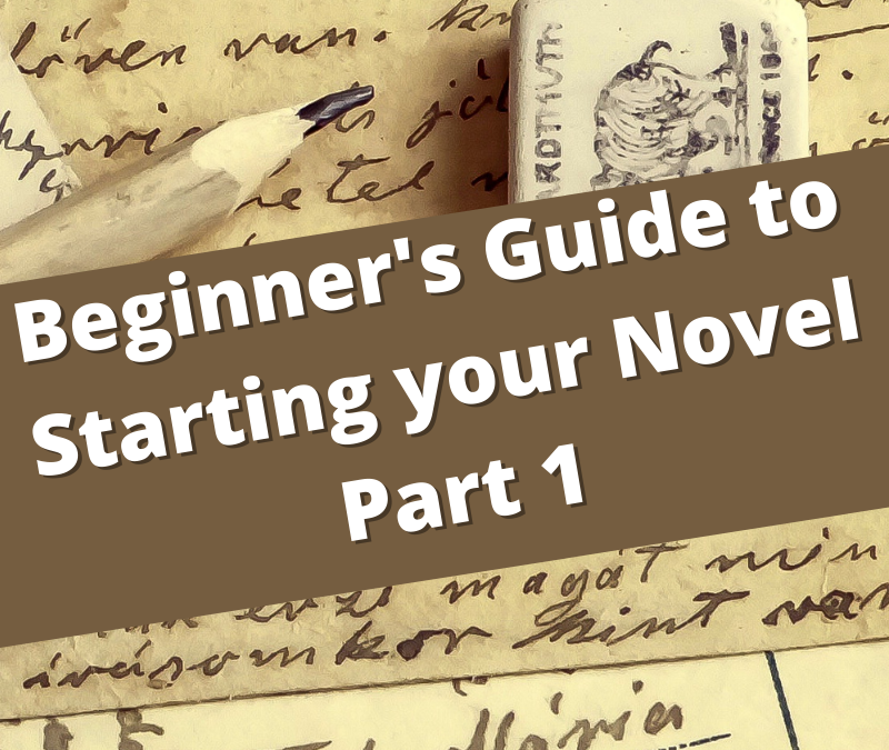 "A Beginner's ""How to Write Novels"": Part 1, start without crying"